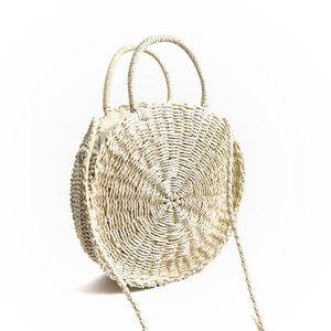 NWT • Summer Straw Bag